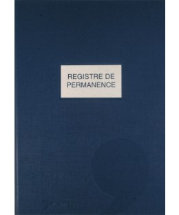 Registre de permanence