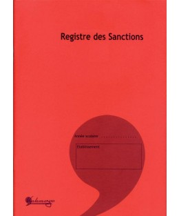 Registre de sanctions