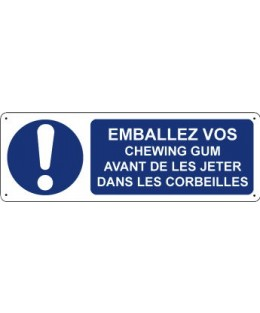 Emballez vos chewing-gum